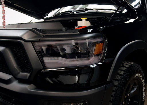 2019+ Dodge Ram 1500 Headlight Tint Kit - Full Wrap
