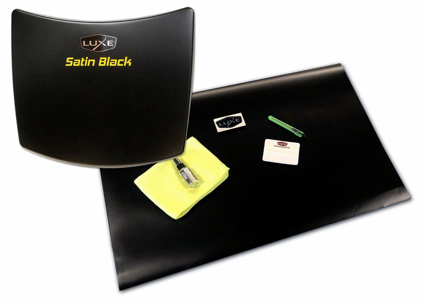 Universal Vinyl Sheet Wrap Kit - 3M Satin Black