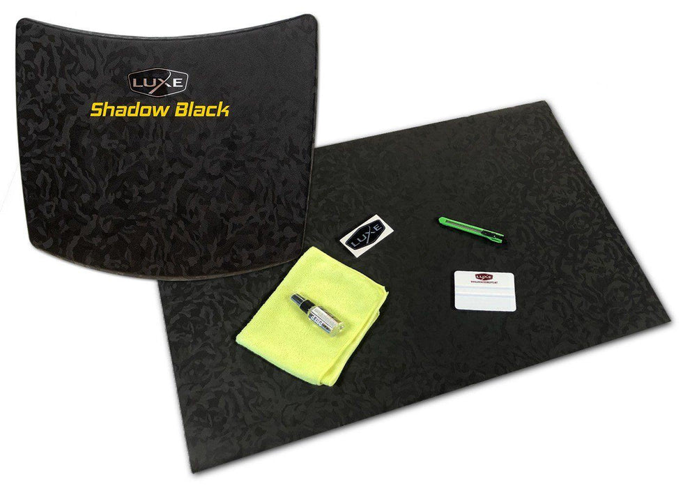 Universal Vinyl Sheet Wrap Kit - 3M Shadow Black - Luxe Auto Concepts