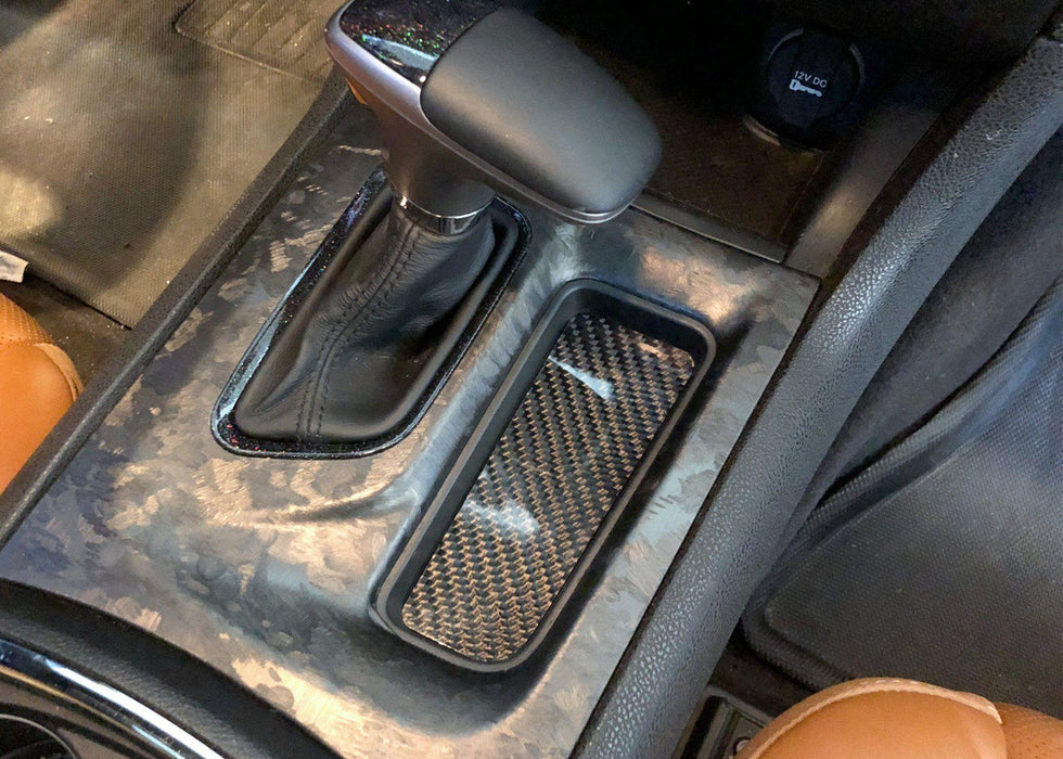 Charger Shifter Cubby Coaster - Real Carbon Fiber