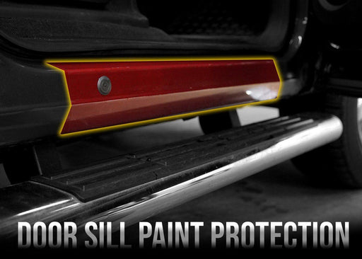 2007-13 Chevy Silverado 1500 Front Door Sill PPF Kit - Luxe Auto Concepts
