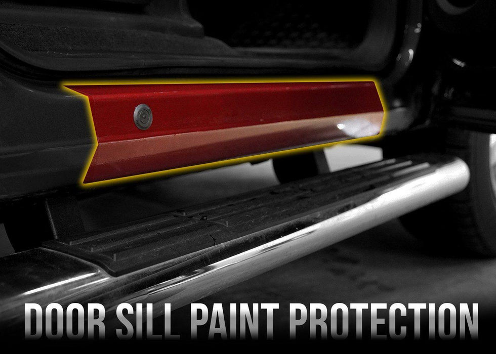 2007-13 Chevy Silverado 1500 Front Door Sill PPF Kit