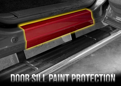 2007-13 GMC Sierra 1500 Rear Door Sill PPF Kit - Luxe Auto Concepts