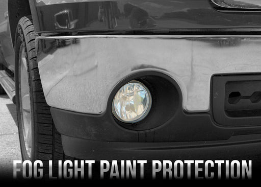 2007-13 GMC Sierra 1500 Fog Light PPF Kit - Luxe Auto Concepts