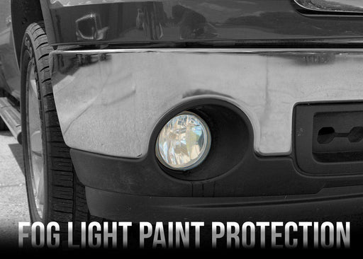2007-13 Chevy Silverado 1500 Fog Light PPF Kit - Luxe Auto Concepts