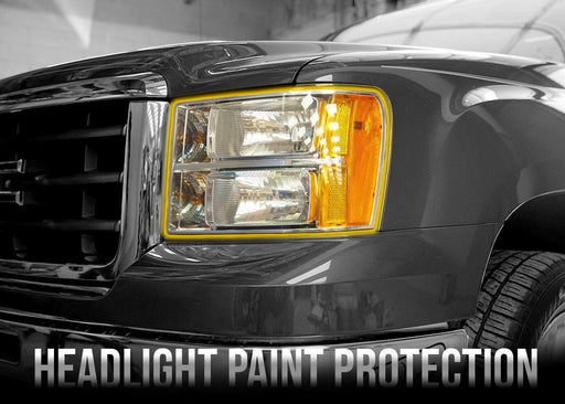 2007-13 GMC Sierra 1500 Headlight PPF Kit - Luxe Auto Concepts
