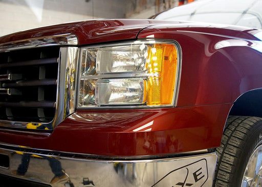 2007-13 Chevy Silverado 1500 Headlight PPF Kit - Luxe Auto Concepts