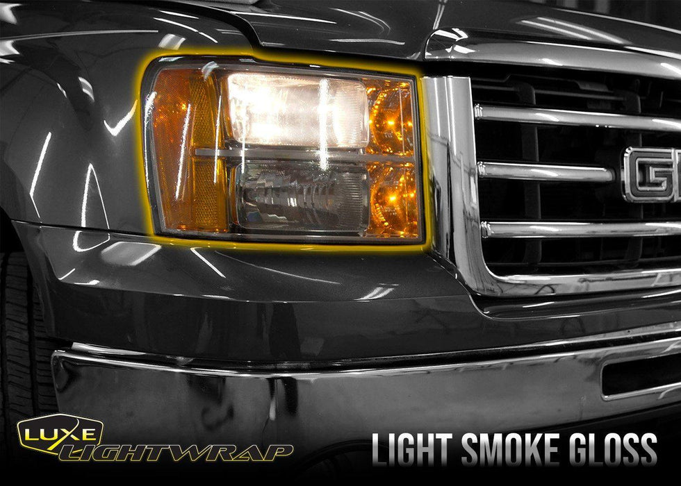 2007-13 GMC Sierra 1500 Headlight Hybrid Tint Kit