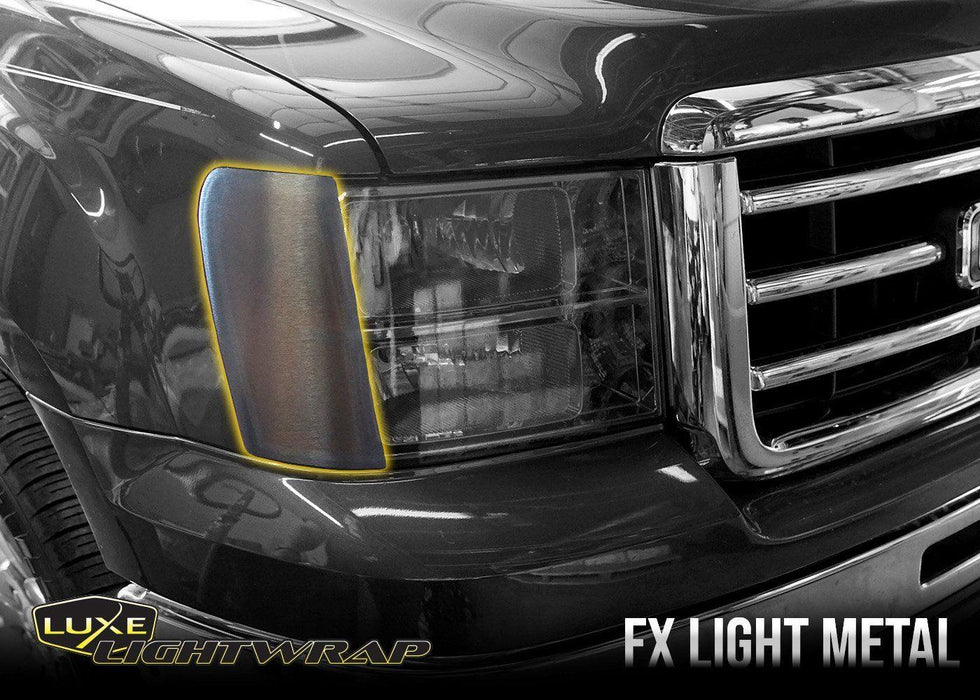 2007-13 GMC Sierra 1500 Front Side Reflector Tint Kit - Luxe Auto Concepts