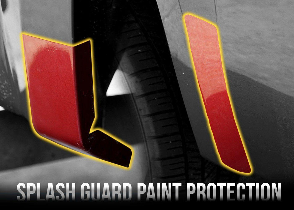 2007-13 Chevy Silverado 1500 Rear Fender Splash Guard PPF Kit - Luxe Auto Concepts