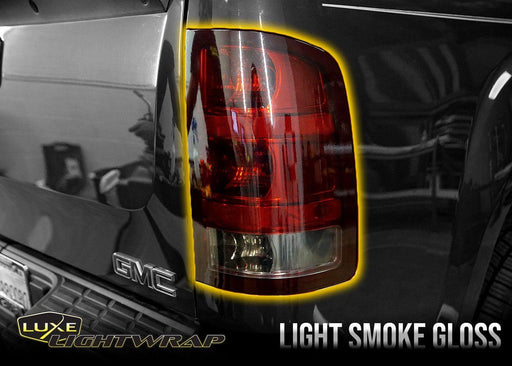 2007-13 Chevy Silverado 1500 Tail Light Tint Kit - Full Wrap - Luxe Auto Concepts