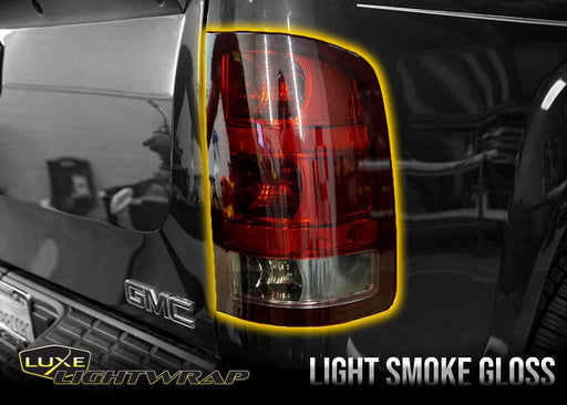 2007-13 GMC Sierra 1500 Tail Light Tint Kit - Full Wrap - Luxe Auto Concepts