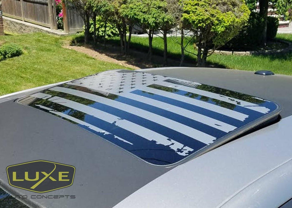 American Flag Sunroof Decal 18 25 Quot X 33 25 Quot