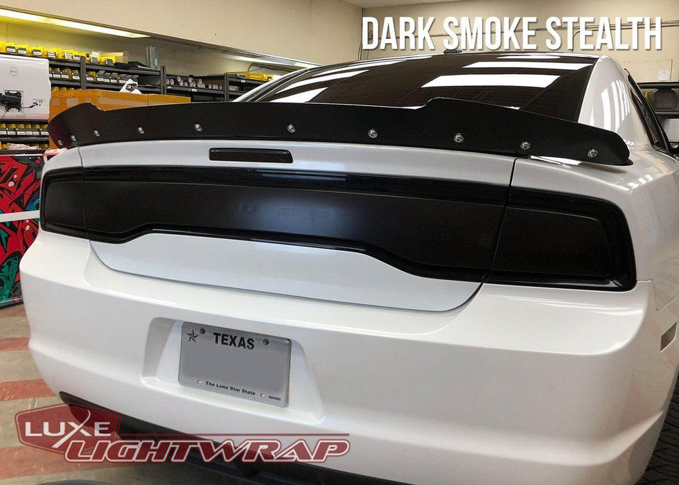2011-14 Charger Tail Light Tint Kit - Type 3 (Full Wrap)