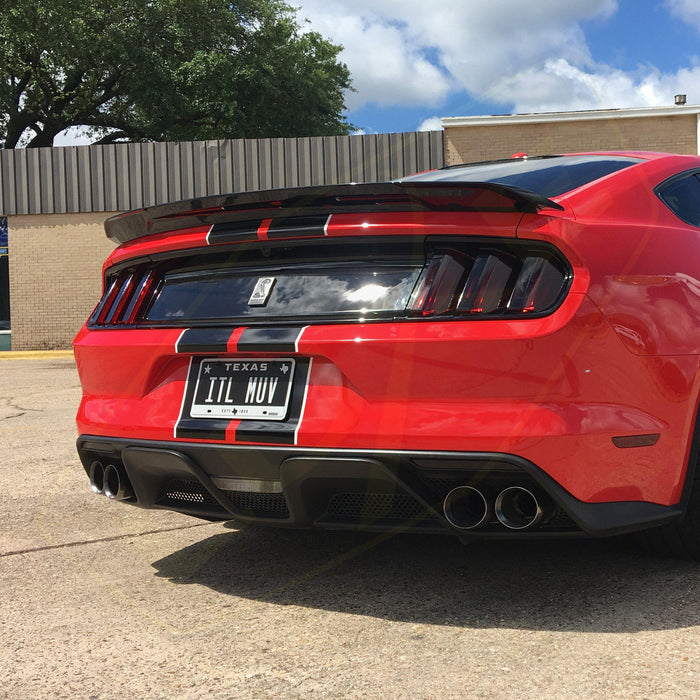2015-17 Mustang/Shelby Tail Light Tint Kit - Luxe Auto Concepts