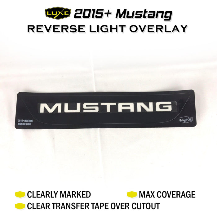 2015-17 Mustang Reverse Light Tint Kit - Luxe Auto Concepts