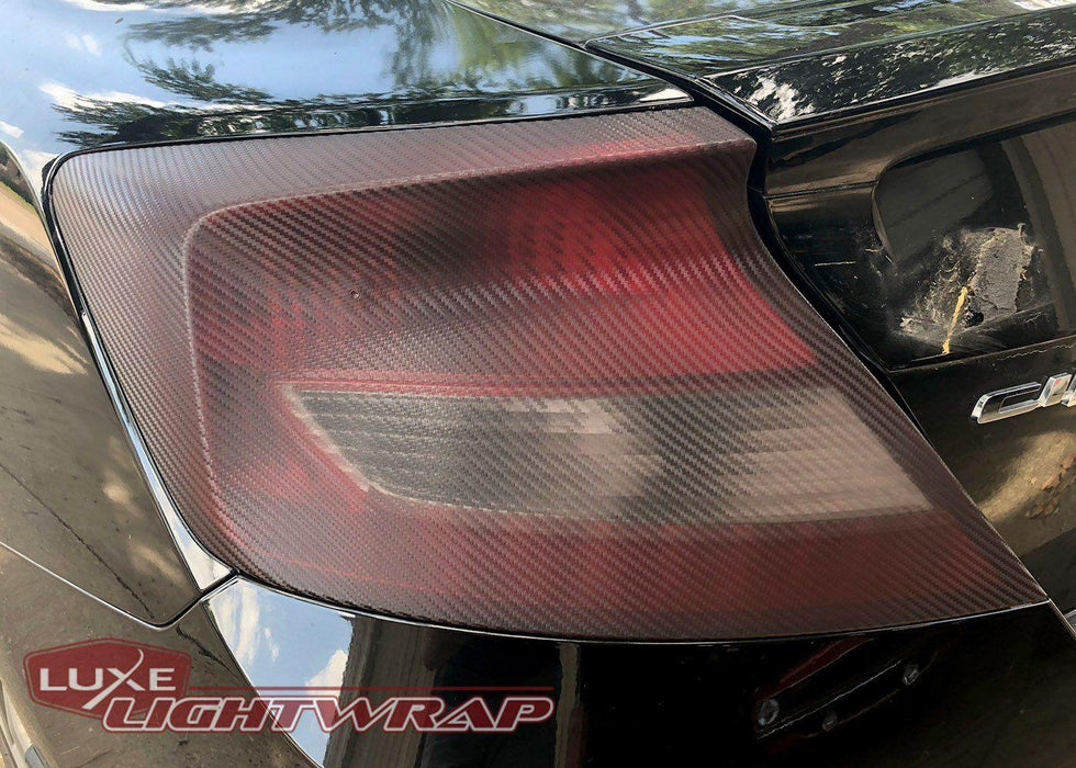 Luxe LightWrap FX Mid Carbon tinted Civic taillight
