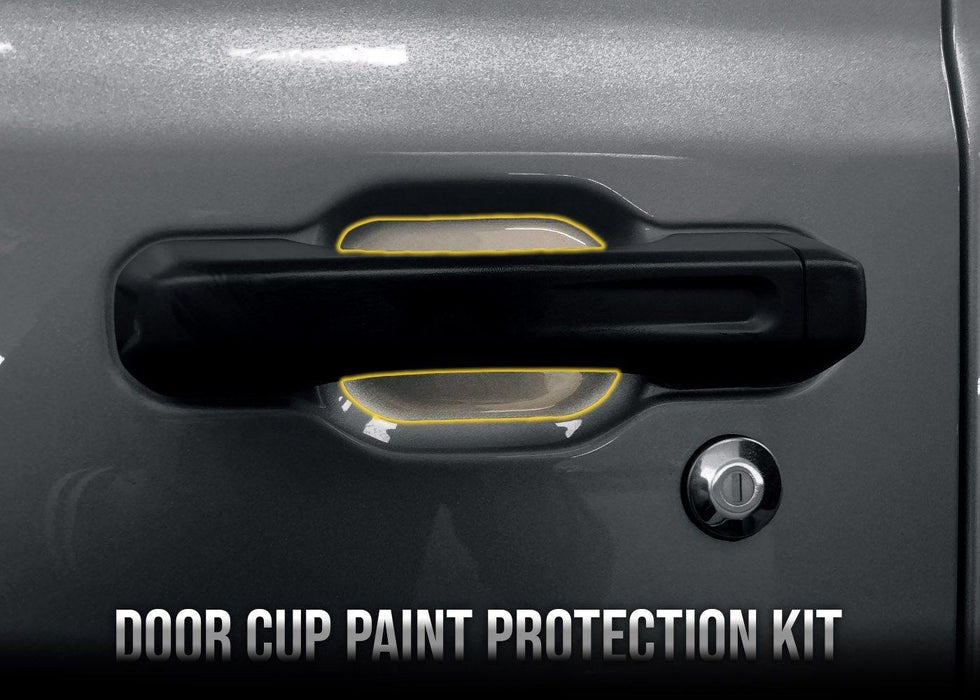 2018+ Jeep Wrangler JL Door Cup Paint Protection Kit