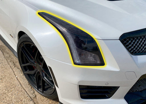 2016-2019 Cadillac ATS Headlight Tint Kit - Luxe Auto Concepts