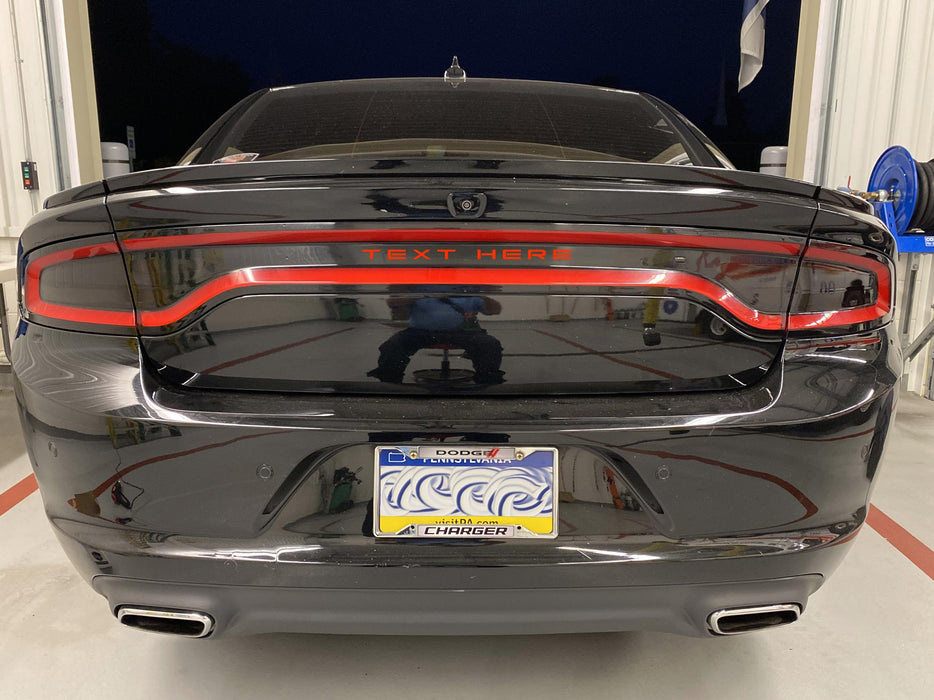Charger Tail Light Badge Decal - Luxe Auto Concepts