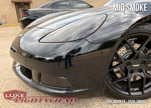 2005-13 C6 Corvette Headlight/Fog Light Tint Kit - Full Wrap