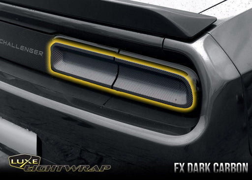 2015+ Challenger Tail Light Tint Kit - Type 2 (FULL WRAP) - Luxe Auto Concepts