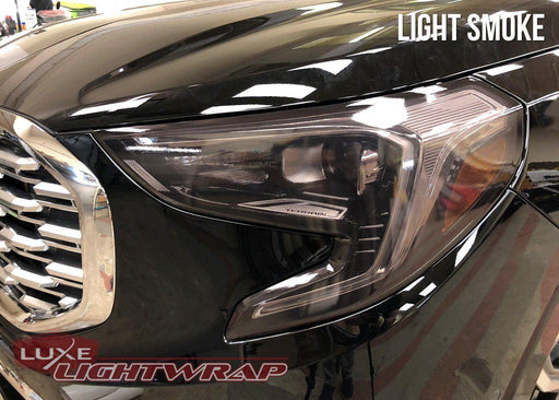 2018+ GMC Head Light Tint Kit - Full Wrap