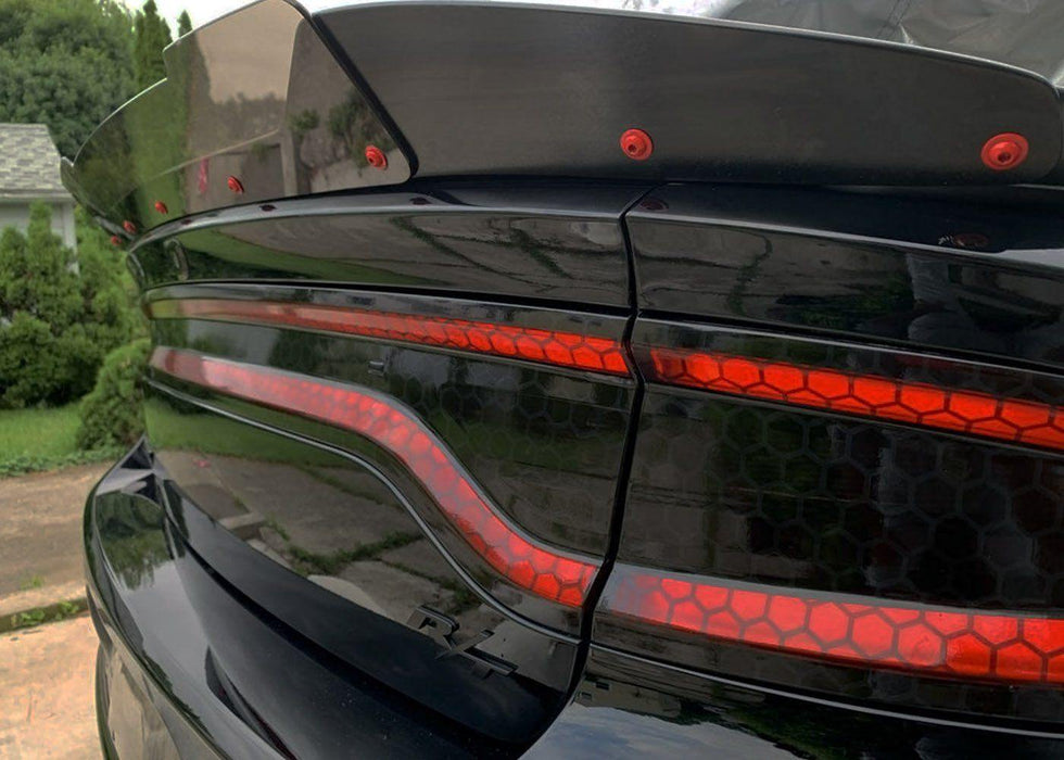 2015+ Charger Tail Light Tint Kit - Type 3 (Full Wrap)