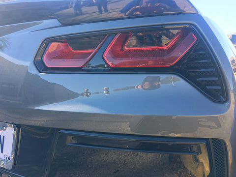 2014+ C7 Corvette - Rear Reflector LightWrap Tint Kit