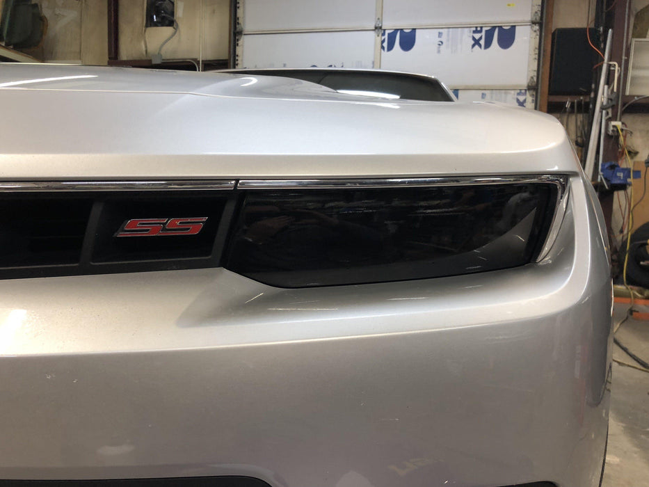 2014-15 Chevy Camaro Headlight Tint Kit