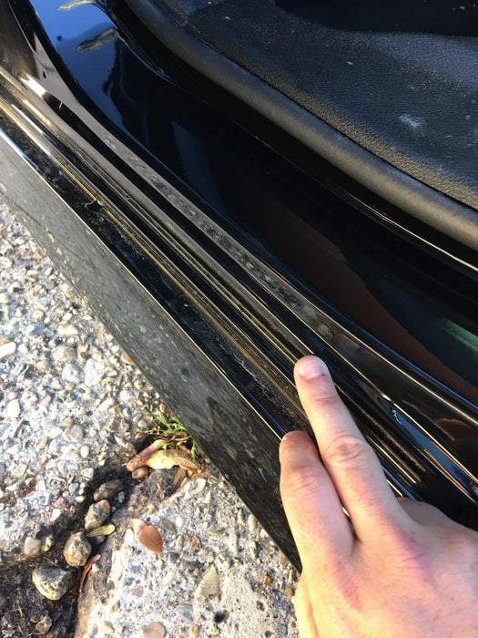 dodge charger door sill paint protection ppf vinyl kit