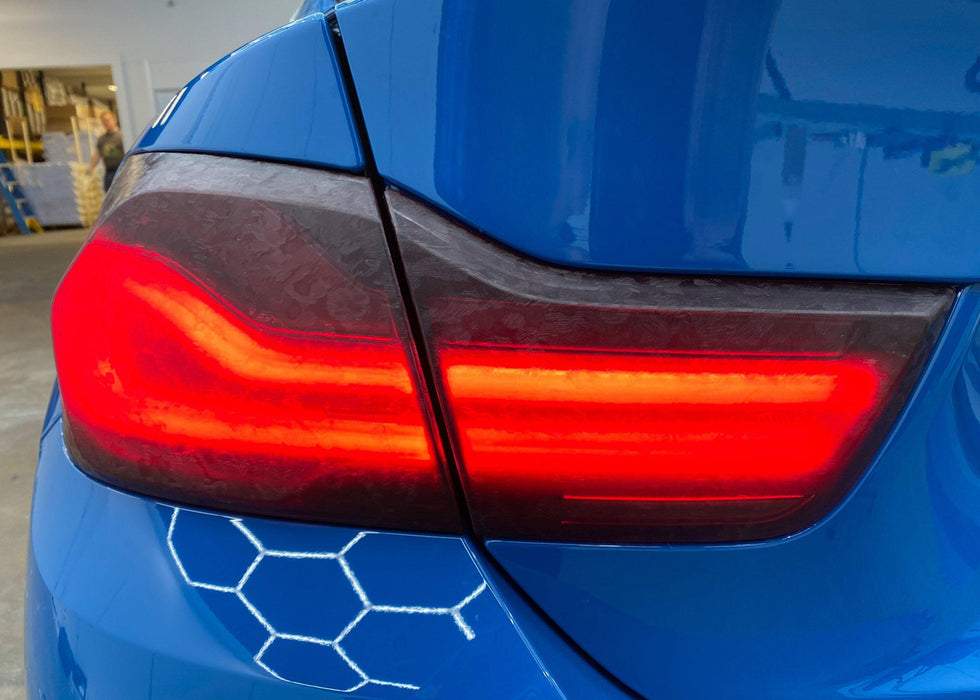 BMW M4 Heritage Forged Carbon LightWrap Taillight TInt