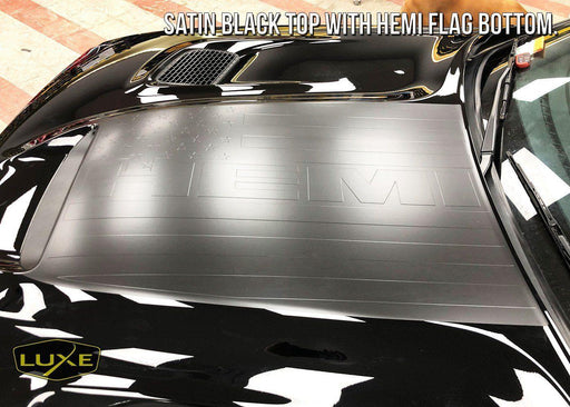 2015+ Challenger Power Bulge Decal - Multi-Layer Kit