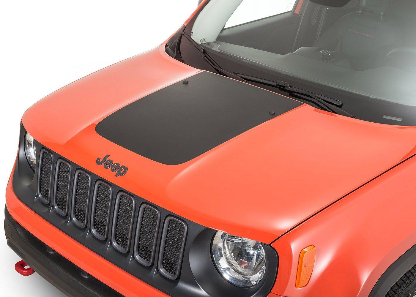 2015+ Jeep Renegade Hood Stripe Decal
