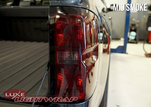2014-19 Chevy Silverado 1500 Tail Light Tint Kit - Full Wrap - Luxe Auto Concepts