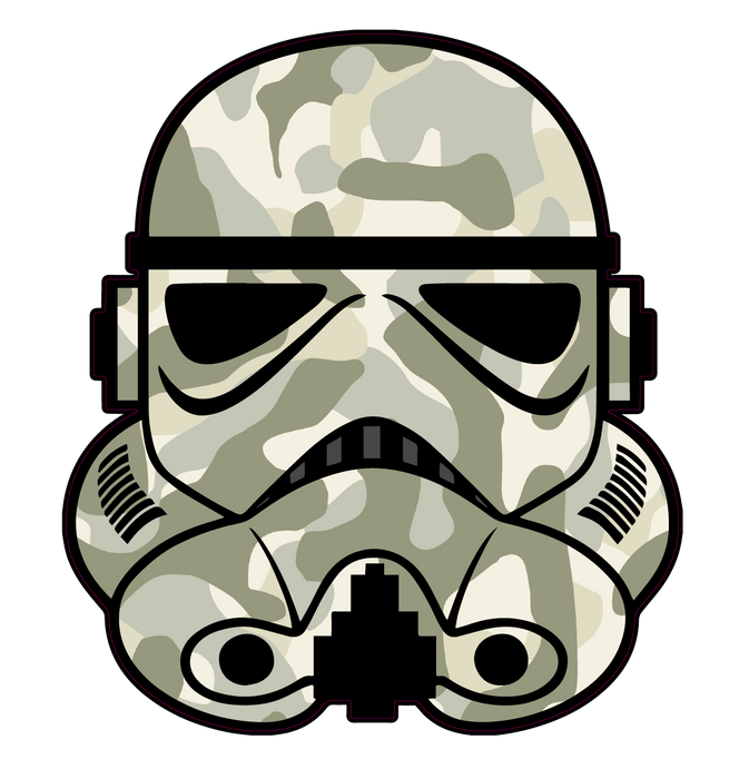 "Patriot / Military ""Trooper"" Series Decals"
