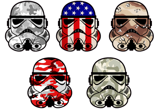 "Patriot / Military ""Trooper"" Series Decals - Luxe Auto Concepts"