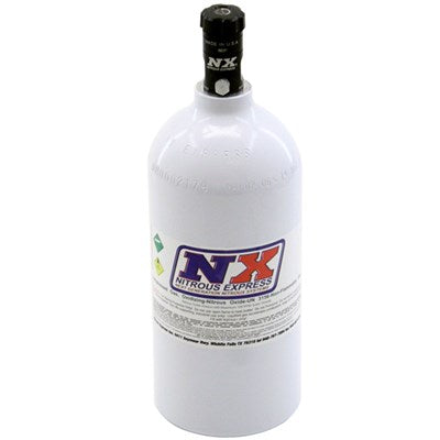 2.5 LB BOTTLE (W/ MOTORCYCLE VALVE) (4.38 DIA. X 12.37 TALL)