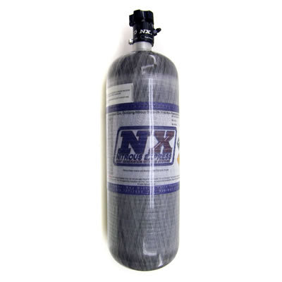 12LB COMPOSITE BOTTLE W/ LIGHTNING 500 VALVE (6.79 DIA. X 23.25 TALL) 11152