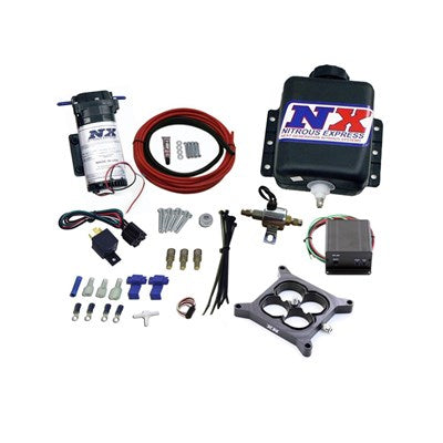 Nitrous Express Water Methanol, Gas Carbureted 4150 Flange Stage 2, Progressive Boost Referencing