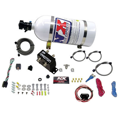 Nitrous Express PROTON FLY BY WIRE NITROUS SYSTEM W/ 10LB BOTTLE 20422-10