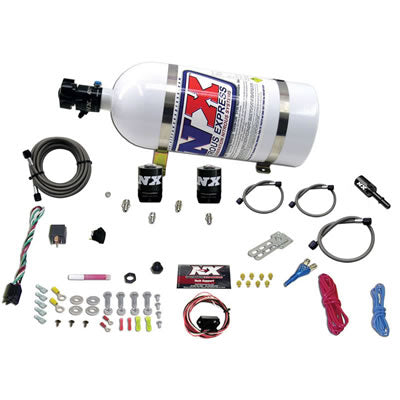 NITROUS EXPRESS 20918-10 HEMI & SRT8 SINGLE NOZZLE FLY-BY-WIRE SYS (35-150HP) W/ 10LB BOTTLE