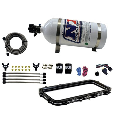 NX Holley High Ram Plenum Plate System w/ 10lb Bottle 20940
