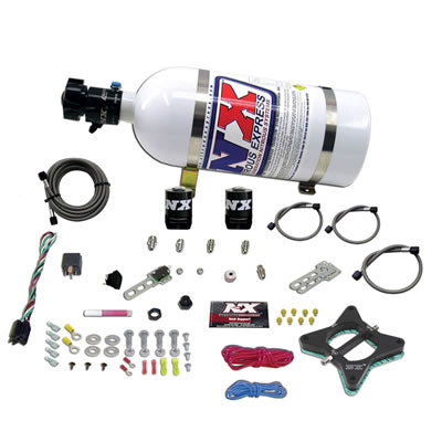 Nitrous Express 20946 4.6L 2 VALVE PLATE SYSTEM (50-150HP)