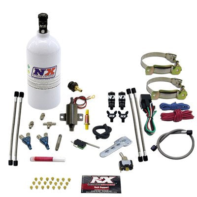 "Nitrous TWO CYLINDER ""PIRANHA"" SYSTEM W 2.5LB BOTTLE 60002P"