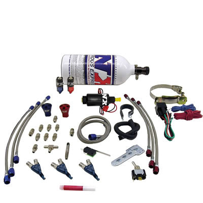 "Nitrous THREE CYLINDER ""PIRANHA"" SYSTEM W 2.5LB BOTTLE 60033P"