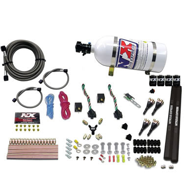 NX 4-CYL SX2 NOZZLE SYSTEM W/ 10LB BOTTLE (100-300HP X 2) 90094-10