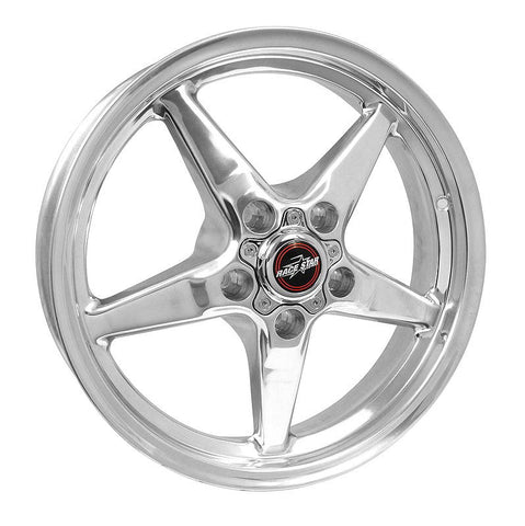 RACESTAR 92 DRAG STAR 17X4.5 5X115BC 1.75BS POLISHED HELLCAT /DODGE