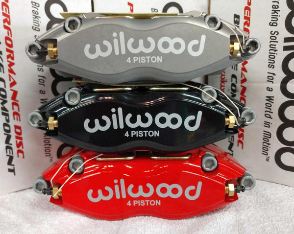 "Wilwood Front Drag Brake Kit -Slotted- (15"" Wheel Conversion Kit) (2005-2018 5.7L/6.1L/6.2L/6.4L 300C, Charger, Challenger, Magnum)"
