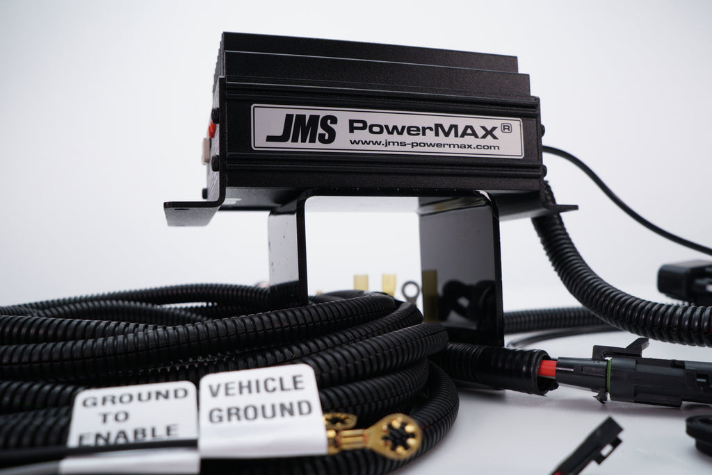 JMS FUELMAX- CHALLENGER CHARGER HELLCAT- FUEL PUMP VOLTAGE BOOSTER V2 - PLUG AND PLAY SINGLE OUTPUT - P2000PPD08